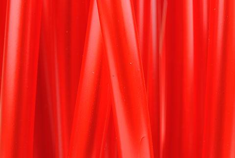 fil flashy rouge
