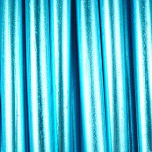 fil aluminium 4mm turquoise