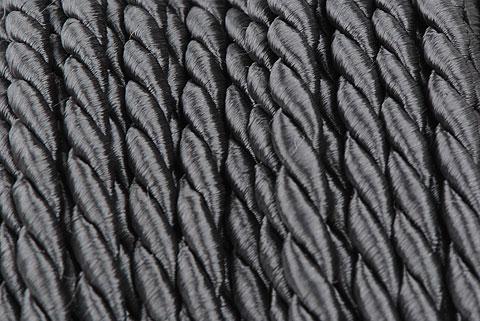 cordelette 4 mm gris antr