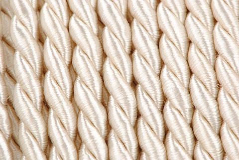 cordelette 4mm ivoire