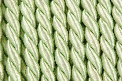 cordelette 4mm vert pale