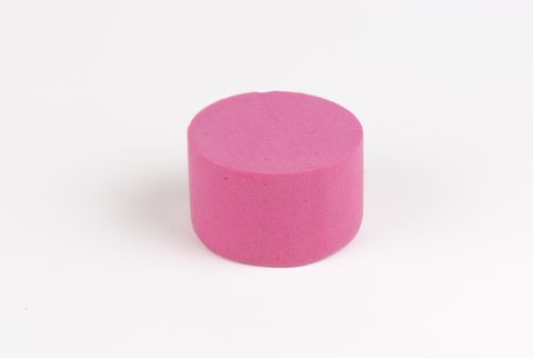 cylindre coloré 8 cm fushia