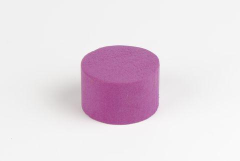 cylindre coloré 8 cm violet