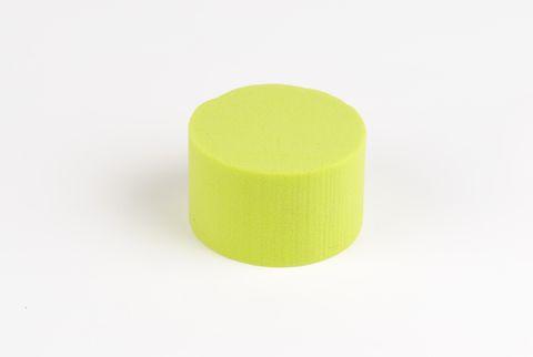 cylindre coloré 8 cm vert anis
