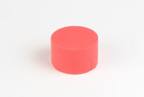 cylindre coloré 8 cm rouge
