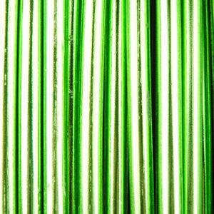 fil alu 2mm vert pomme