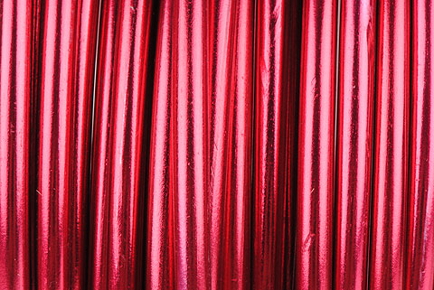 fil aluminium 4mm rouge