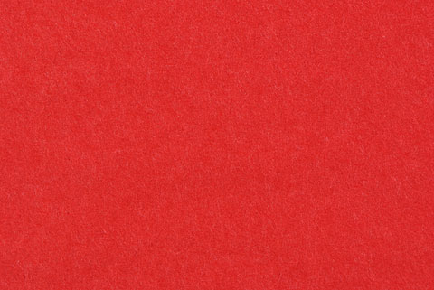 feuille de soie rouge