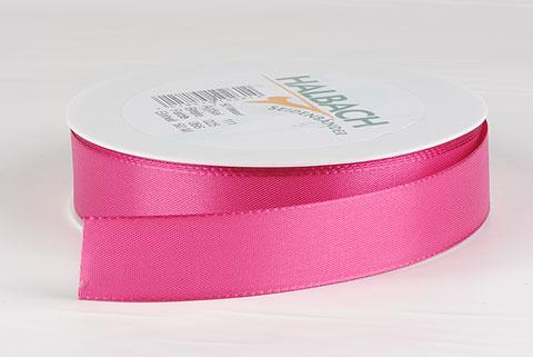 ruban en tissu 25mm fushia