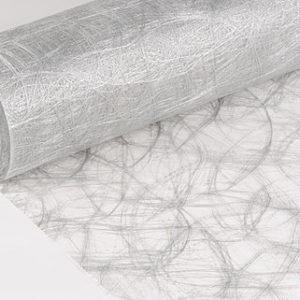 fibre sizoweb argentée