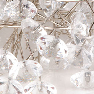 épingle diamant 11mm