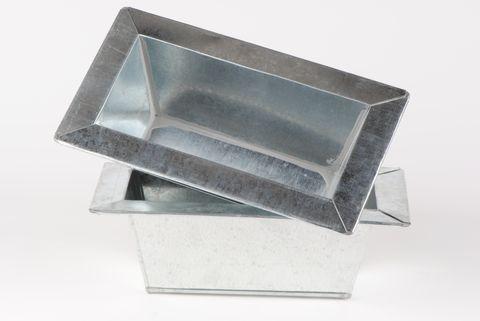 vasque en zinc 25cm autour de la fleur accessoires de d coration. Black Bedroom Furniture Sets. Home Design Ideas