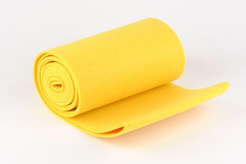feutre 20cm jaune