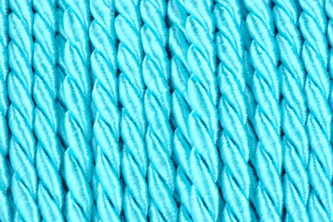 cordelette 4 mm turquoise