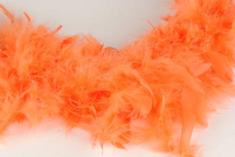 boa plume orange