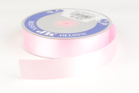 ruban tissu 25mm rose pale