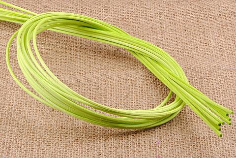 osier rond 3 mm vert
