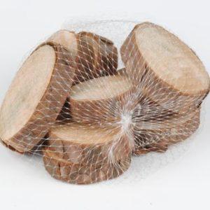 tranche de bois ronde