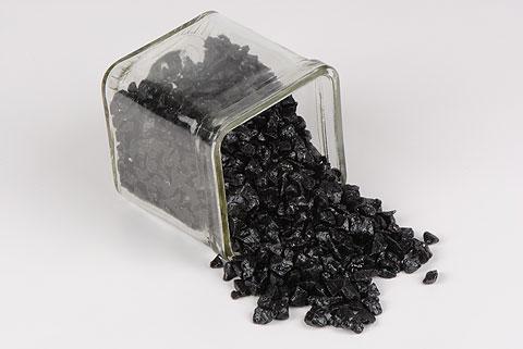 Gravier 3 6 mm noir autour de la fleur accessoires for Gravier noir prix