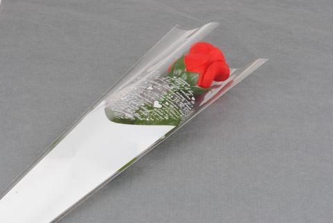 etui a roses 55 cm modele coeur