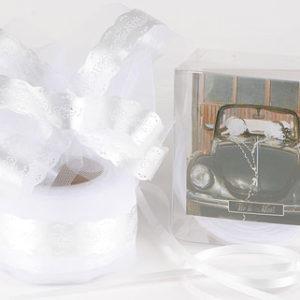noeud geant auto blanc