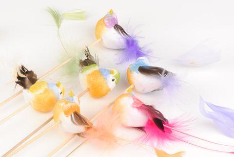 oiseau plume autour de la fleur accessoires de d coration. Black Bedroom Furniture Sets. Home Design Ideas