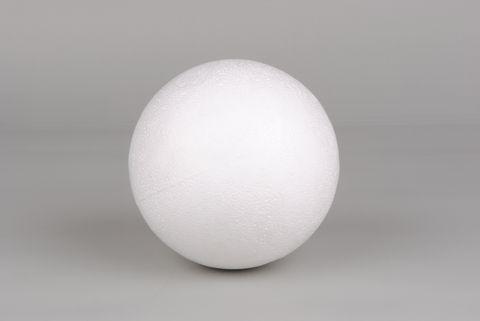 Boule pleine en polystyr ne diam tre 10cm autour de la for Boule polystyrene a decorer