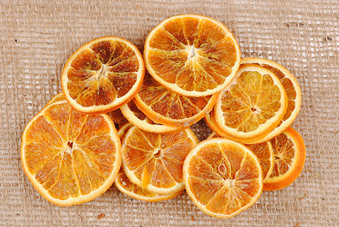 tranches d' orange