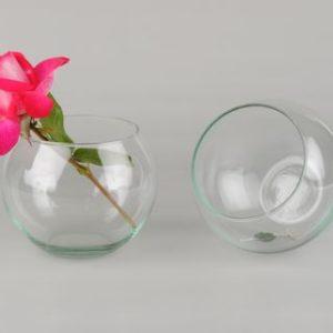 vase boule diamètre 11cm