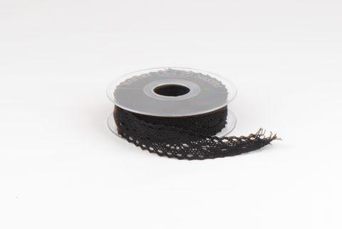 ruban dentelle 25mm noir