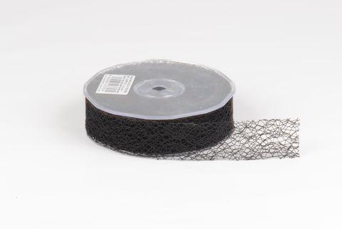 ruban fibre 30 mm noir