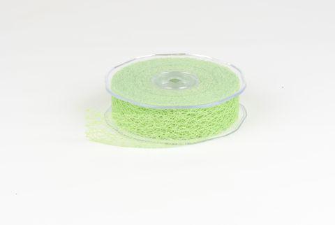 ruban fibre 30mm vert pomme