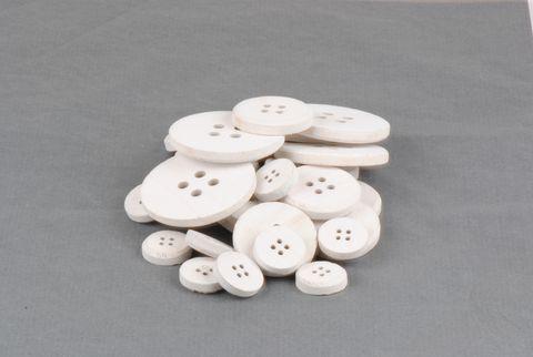 boutons blancs