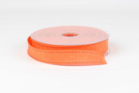 ruban de toile orange