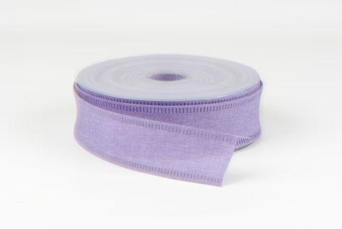 ruban de toile 40 mm lilas