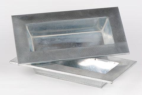 coupe rect zinc 30cm