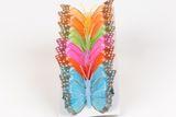 papillons assortis 10 cm