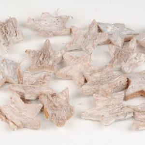 etoile noix de coco blanchie